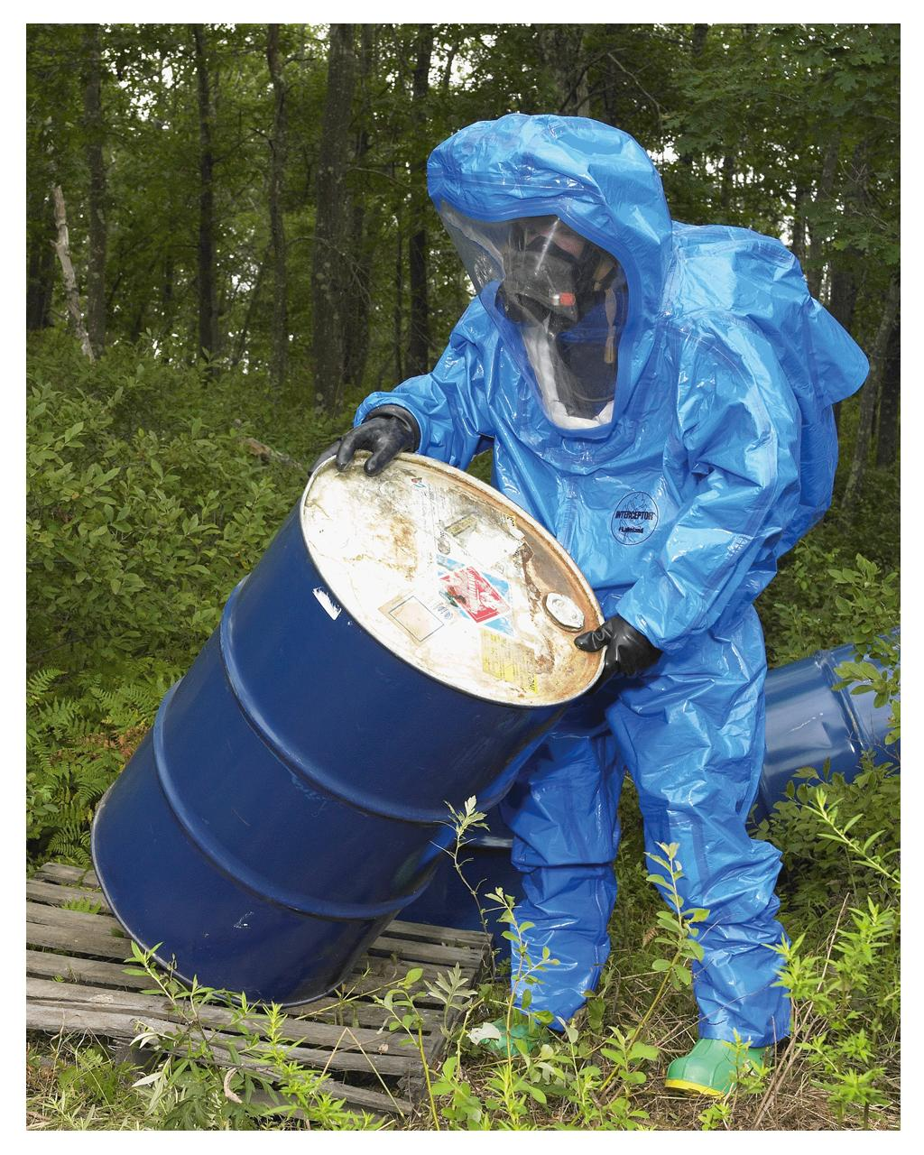 Gas tight Chemical Suit Interceptor®
