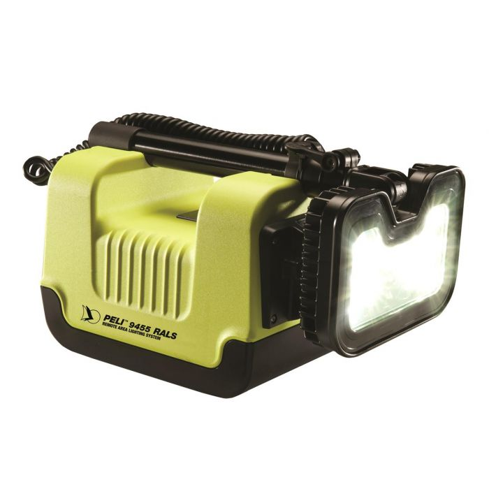 Rals 9455 ATEX Zone 0 Yellow Remote Area Lighting System
